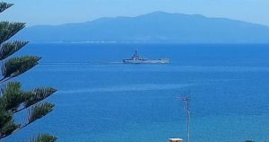 Read more about the article Greek Vessel Takes Syrians, Afghans to Closed Camp