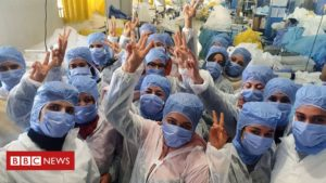 Read more about the article Coronavirus: 150 Tunisians self-isolate in factory to make masks