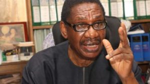 Read more about the article Sagay Urges Government To Relax Lockdown, Condemns Corruption In Palliatives Distribution