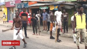 Read more about the article Lagos unrest: The mystery of Nigeria's fake gangster attacks