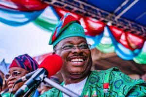 Read more about the article BREAKING: APC Names Former Oyo Governor, Ajimobi, As Acting National Chairman After Court Upheld Oshiomhole's Suspension