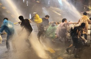 Read more about the article Thailand: Water Cannon Used Against Peaceful Activists