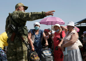 Read more about the article Ukraine: Armed Groups' Arbitrary Pandemic Restrictions
