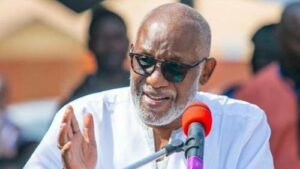Read more about the article Governor Akeredolu Sacks Ondo Attorney-General