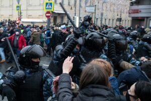 Read more about the article Russia: Police Detain Thousands in Pro-Navalny Protests