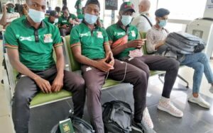 Read more about the article CHAN: The Zambian national team arrives Cameroon