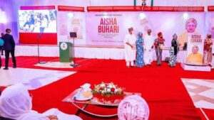 Read more about the article A Scattered Family Can't Fix Nigeria – Nigerians React To Buhari's Absence At Aisha's Book Launch