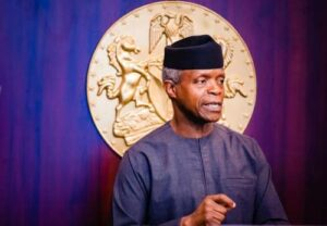 Read more about the article Soon, We Will All Live In Peace And Prosperity In Nigeria—Osinbajo Says Amid Insecurity, Worsening Economy