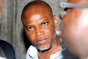 Read more about the article BREAKING: IPOB Leader, Nnamdi Kanu Meets Younger Brother, Says Biafra Must Be Reality