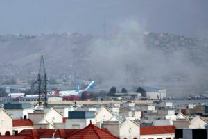 Read more about the article Attack at Kabul Airport Ends Civilian Evacuation