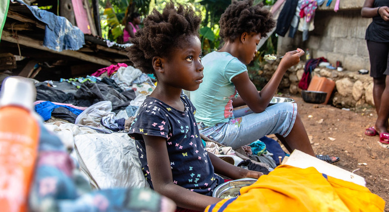 Read more about the article UNICEF: Haiti children vulnerable to 'violence, poverty and displacement'  