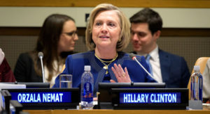 Read more about the article Afghanistan peace prospects 'slim' without women's participation: Hillary Clinton