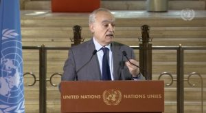 Read more about the article Declaring commitment to 'peace and stability' for Libya, top UN envoy steps down as stress takes its toll