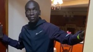 Read more about the article Eliud Kipchoge's self-isolation diary: 'It's really hard to train alone'