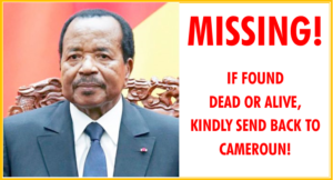 Read more about the article MISSING PRESIDENT!