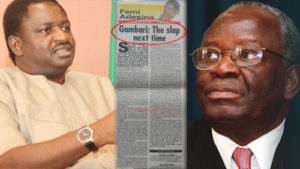 Read more about the article President Buhari's Spokesperson, Femi Adesina, Makes Desperate Moves To Mend Relationship With New Chief Of Staff To President, Gambari, 12 Years After Damning Newspaper Article On Him