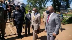 Read more about the article Smiles in NW as Minister Paul Tasong takes reconstruction project to Bamemda