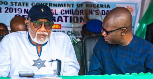 Read more about the article Governor Akeredolu Speaks On Feud With Deputy, Describes Ajayi As Wrong Choice For 2016 Election