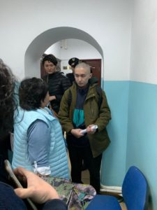 Read more about the article Kazakhstan Activist Gets Criminal Record for Losing Cool with Police