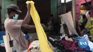 Read more about the article Ghana's Used Clothing Market Falters as COVID Bans, Poverty Intersect | Voice of America