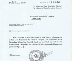 Read more about the article Cameroon: Presidency orders probe into coronavirus funds