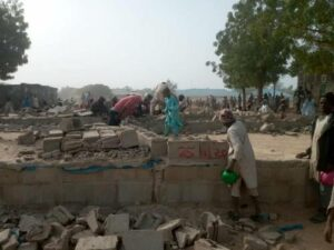 Read more about the article Ganduje Orders Demolition Of Structures Around Residence Of Islamic Cleric