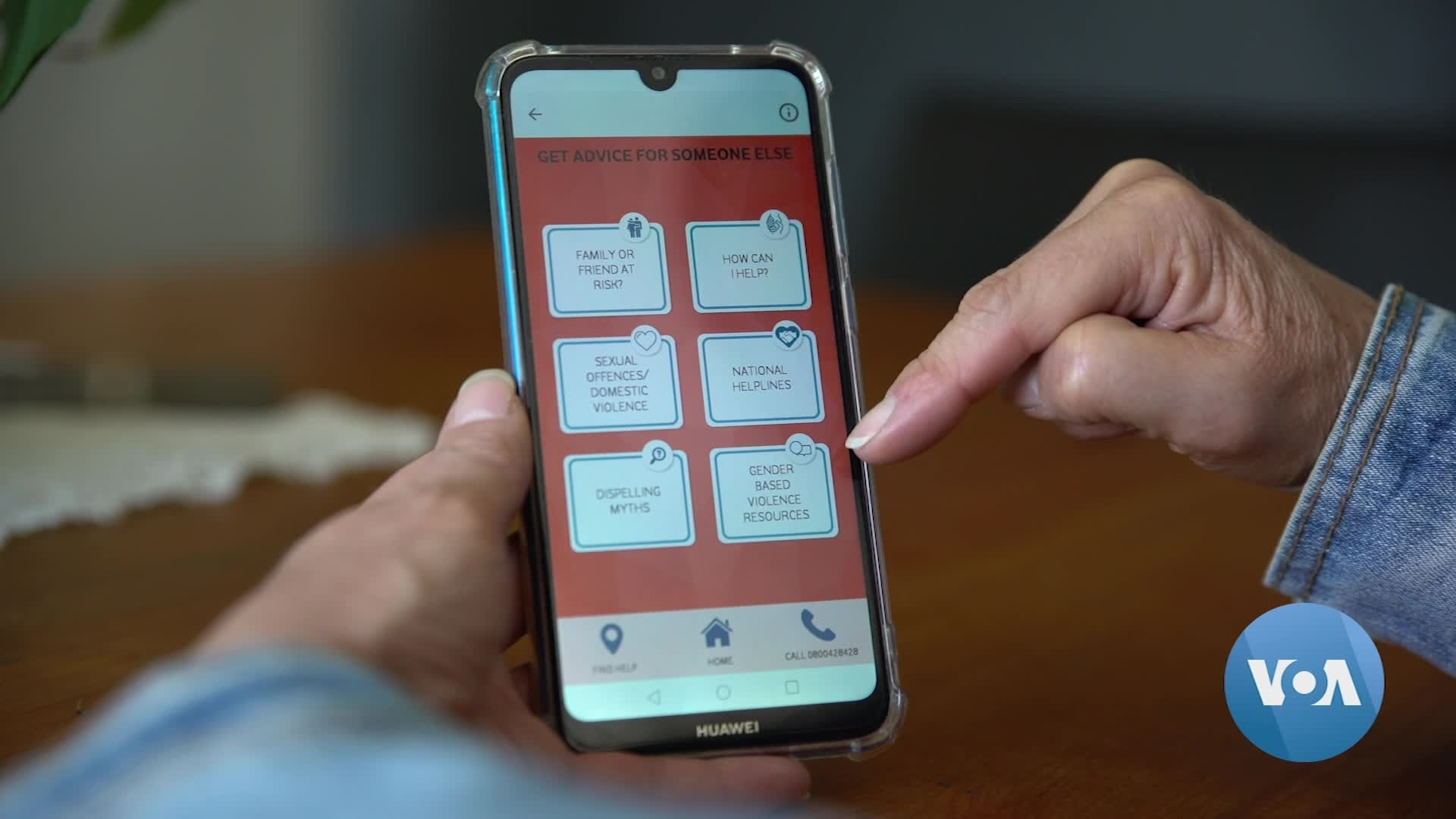 Read more about the article South African Telecom App Helps Gender-BasedViolence Survivors   Voice of America