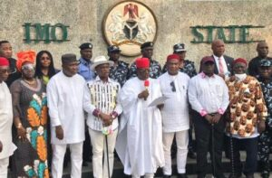 Read more about the article Real Reason S'East Governors Formed Regional Security Outfit, Ebubeagu – Ikpeazu