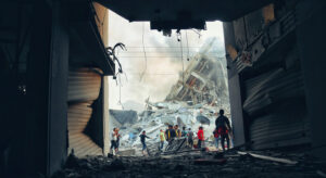 Read more about the article Gaza children living in 'hell on earth', UN chief says, urging immediate end to fighting  