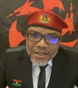 Read more about the article We Will Stop All Military Attacks In Biafra Land, Nnamdi Kanu Vows