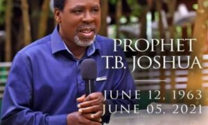Read more about the article Blacklisted by Cameroon In 2010; these are 10 things you didn't know about TB Joshua