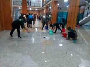 Read more about the article Why We Can't Fix Nigeria's National Assembly Complex's Leaking Roof— Federal Agency