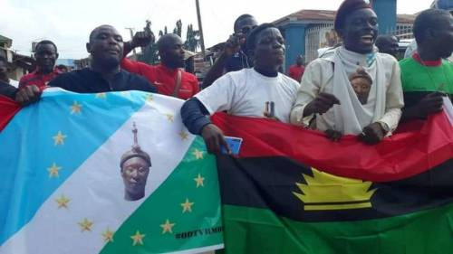 Read more about the article We're Considering Oduduwa-Biafra Collaboration, Britain Created Hatred Between Yoruba, Igbo— Igboho's Aide