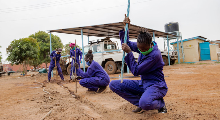 Read more about the article FROM THE FIELD: South Sudan's displaced youth, help power change |