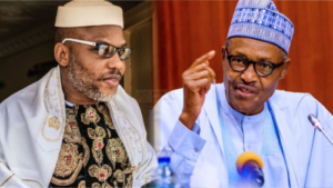 Read more about the article Buhari Gags Press, Accredits 10 Media Organisations To Cover Nnamdi Kanu's Trial