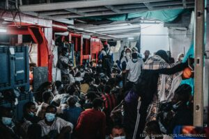 Read more about the article Ship Rescues Nearly 200 Migrants Off Libya | Voice of America