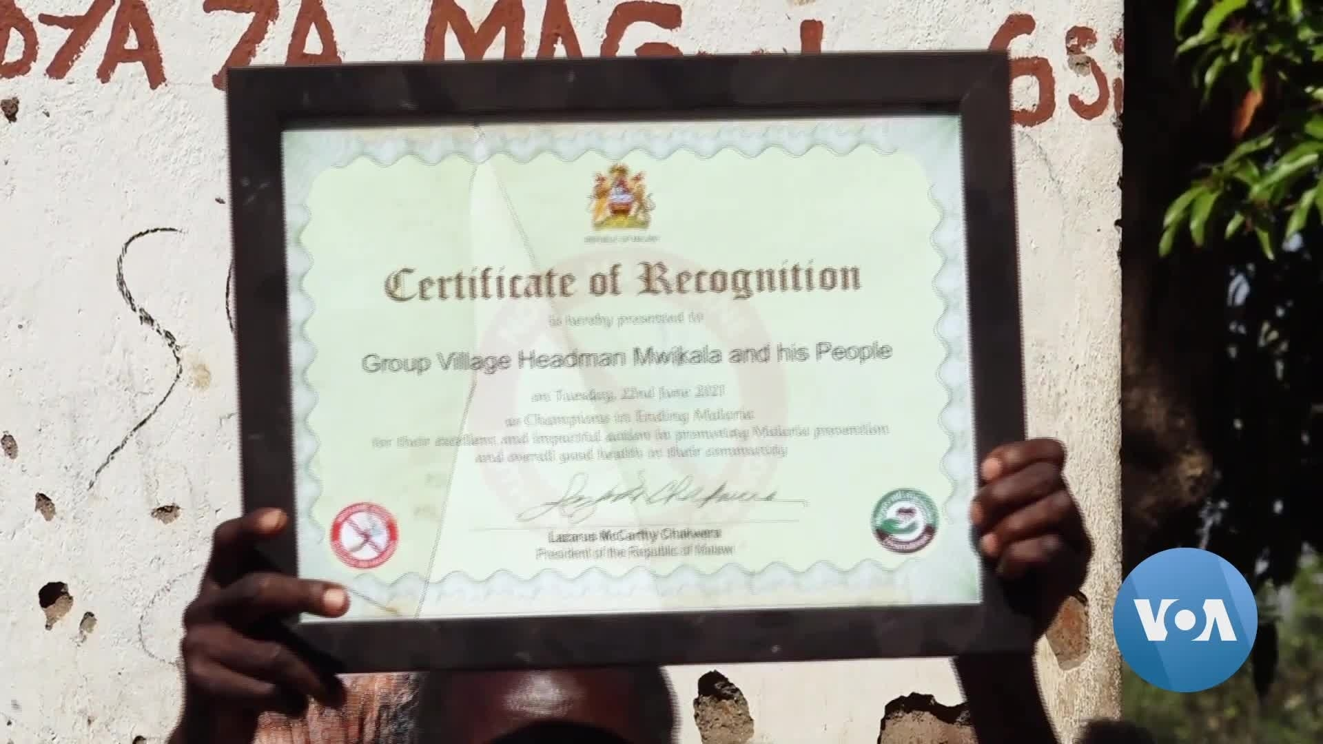 Read more about the article Malawi Village Gets Award for Fighting Malaria Infection and Deaths   Voice of America