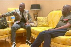 Read more about the article Lagos Governor, Sanwo-Olu Visits Tinubu In London Amid APC Party Leader's Ill Health