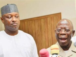 Read more about the article Oshiomhole To Keyamo: You Lack Discipline, Reaped Nothing For Supporting My Removal As APC Chairman