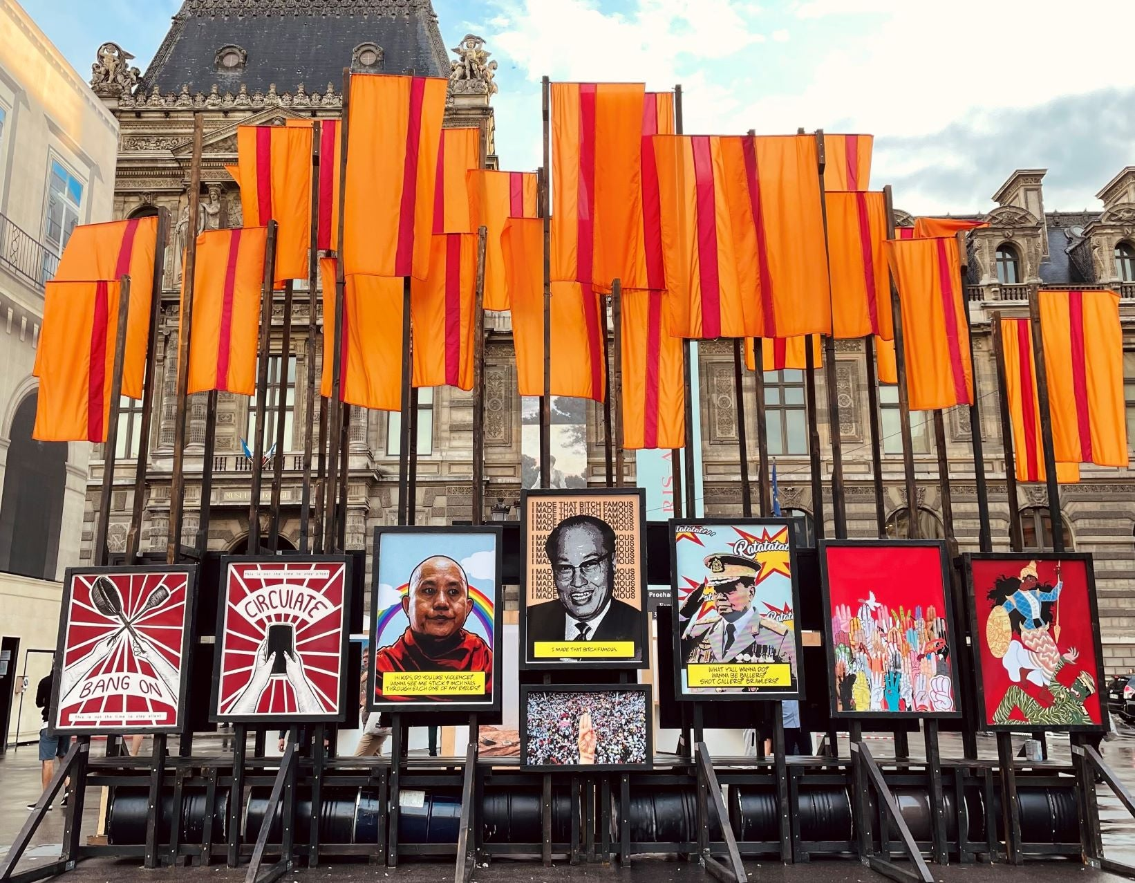 Read more about the article Paris Exhibition Puts Myanmar Junta's Repression on Display