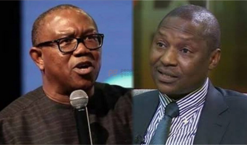 Read more about the article Anambra: Attorney-General Malami Should Scrutinise His Words Before He Speaks – Ex-Governor, Peter Obi