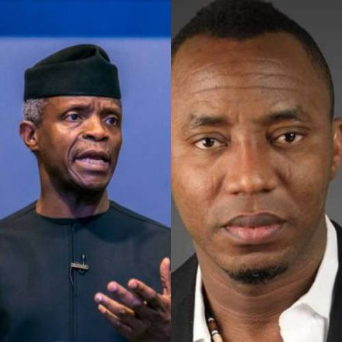 Read more about the article Vice-President Osinbajo Is As Dangerous As Buhari, They Plot Evils Afflicting Nigeria Together— Activist, Sowore